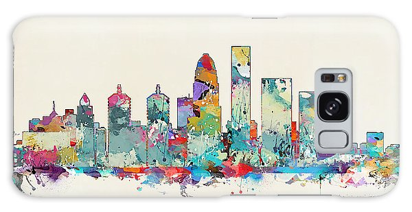 Louisville Kentucky Skyline Galaxy Case