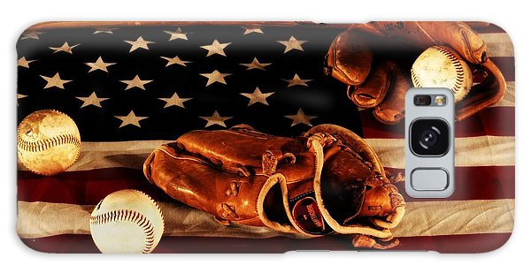 Baseball Bats Galaxy S8 Case - Louisville Slugger by Dan Sproul