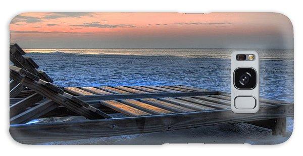 Lounge Closeup On Beach ... Galaxy Case