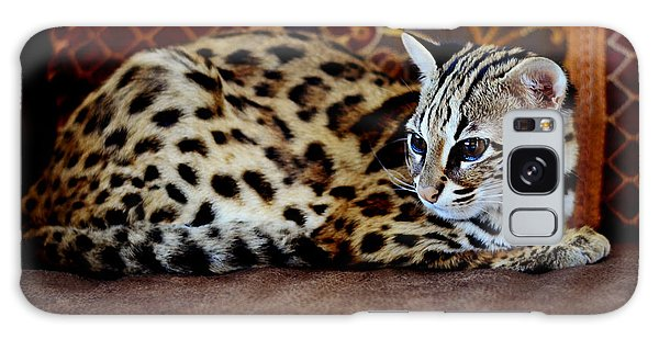 Lounging Leopard Galaxy Case
