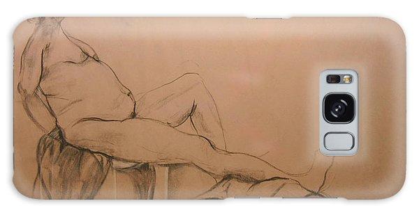 Lounging Nude Galaxy Case by Gabrielle Schertz