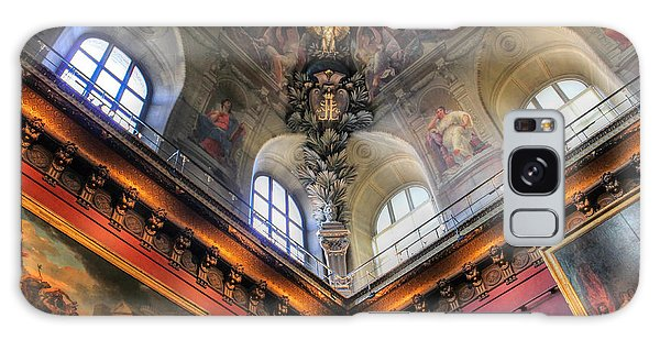 Louvre Ceiling Galaxy Case by Glenn DiPaola