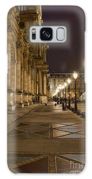 Louvre Courtyard Galaxy Case
