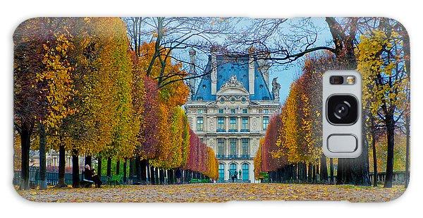 Louvre In Fall Galaxy Case