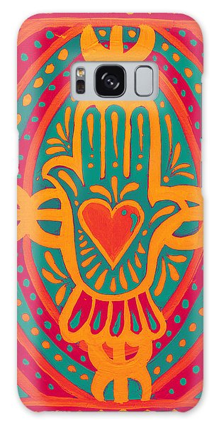 Love And Wealth To You Galaxy Case