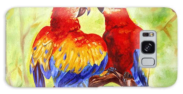Love Birds  Galaxy Case by Ragunath Venkatraman