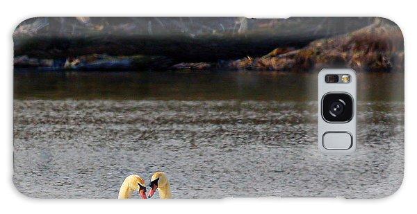 Love Birds Galaxy Case by Richard Engelbrecht