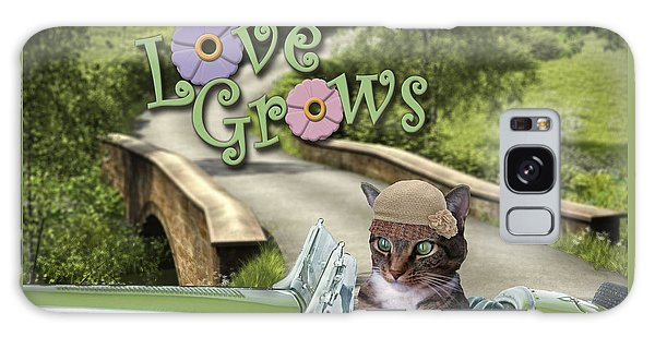 Love Grows Galaxy Case
