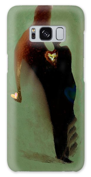 Love Galaxy Case by Haleh Mahbod