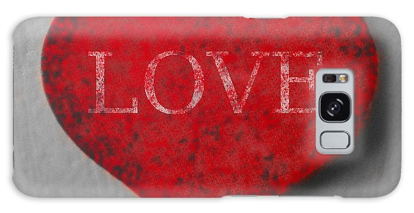 Love Heart 1 Galaxy Case by Richard Reeve