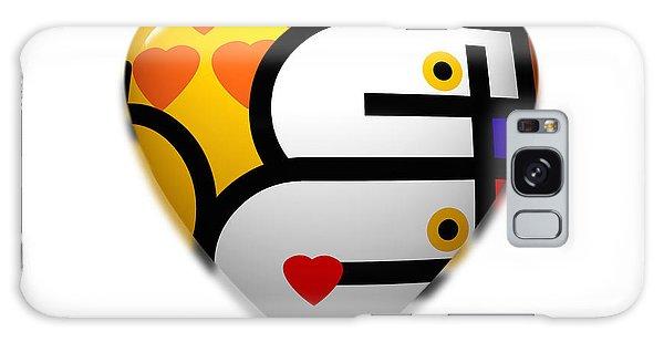 Love Heart Pop Galaxy Case