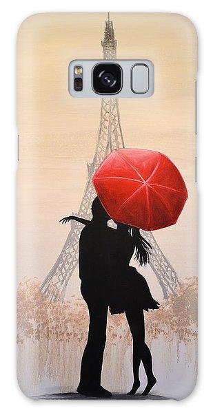 Love In Paris Galaxy Case