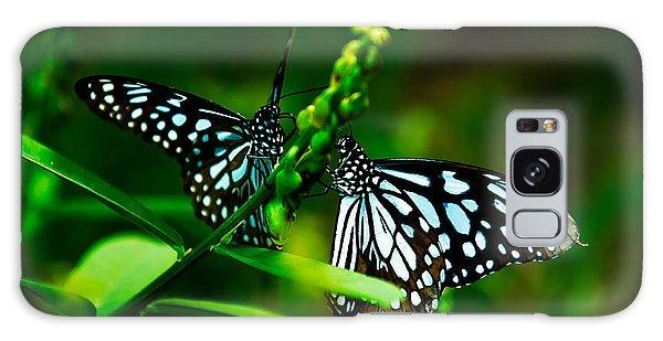 Love Is Like A Butterfly Galaxy Case