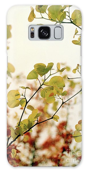 Love Leaf Galaxy Case by Rebecca Harman