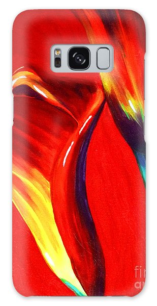 Love Lilies Galaxy Case by Jackie Carpenter