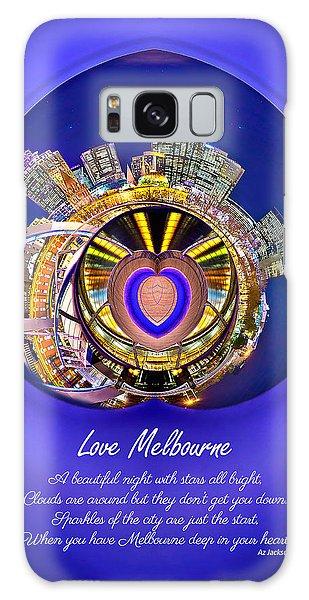 Victoria Galaxy Case - Love Melbourne by Az Jackson
