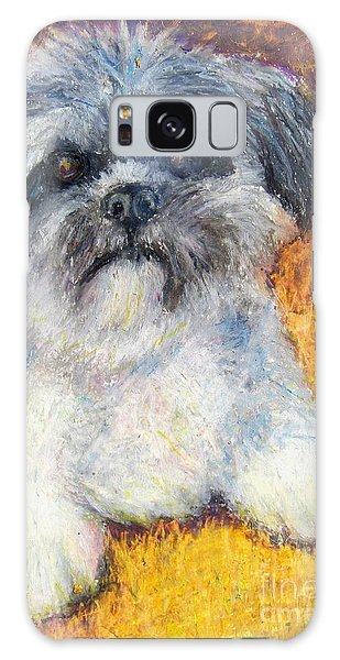 Love My Lhasa Galaxy Case by Laurie Morgan