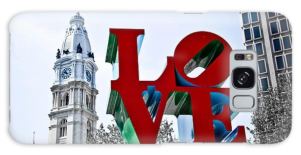 Love Park And City Hall Galaxy Case
