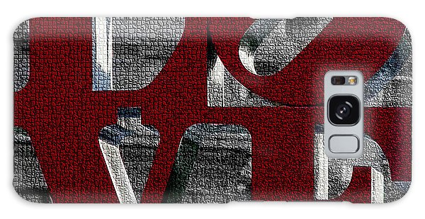 Love Philadelphia Red Mosaic Galaxy Case