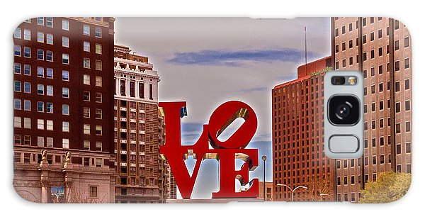 Love Sculpture - Philadelphia - 2 Galaxy Case