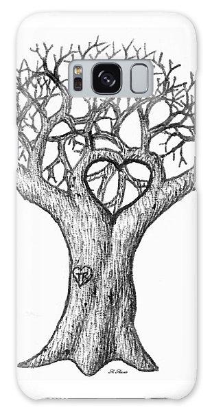 Love Tree Galaxy Case