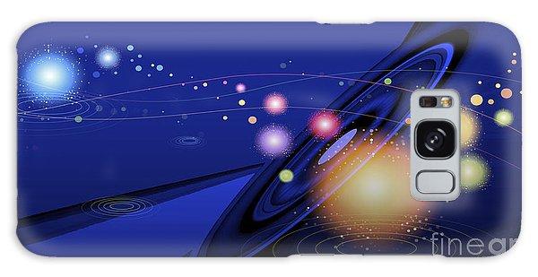 Galaxy Case featuring the digital art Love  Universe by Eleni Mac Synodinos