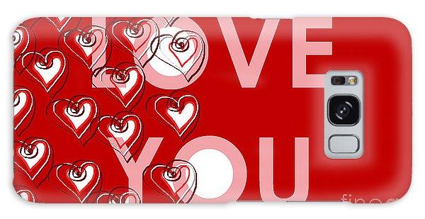 Love You Galaxy Case