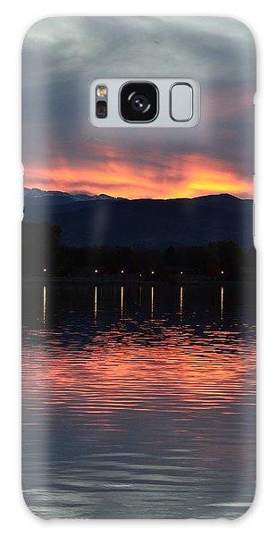 Loveland City Sunset Galaxy Case