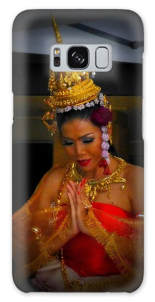 Lovely Balinese Dancer Galaxy Case by Lori Seaman