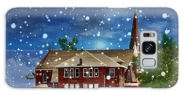 Lovely Country Church Galaxy Case by Liane Wright