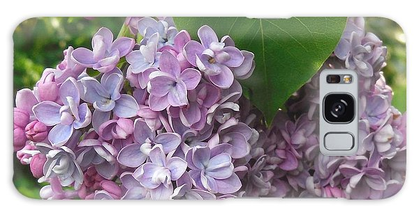 Lovely Luscious Lilacs Galaxy Case
