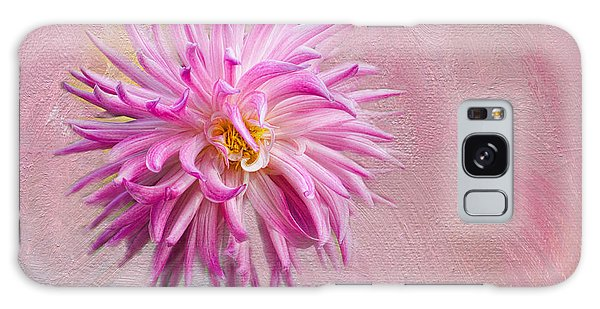 Lovely Pink Dahlia Galaxy Case