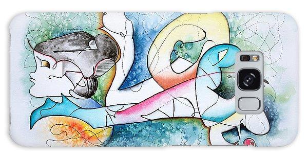 Galaxy Case - Lover by Zuzana Vass