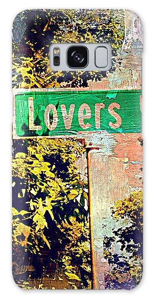 Lovers Lane Galaxy Case by Beth Saffer