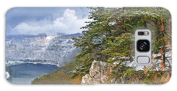 Lovers Leap At Hawks Nest Galaxy Case