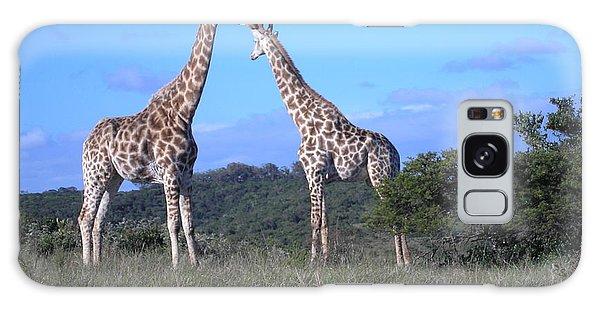 Lovers On Safari Galaxy Case