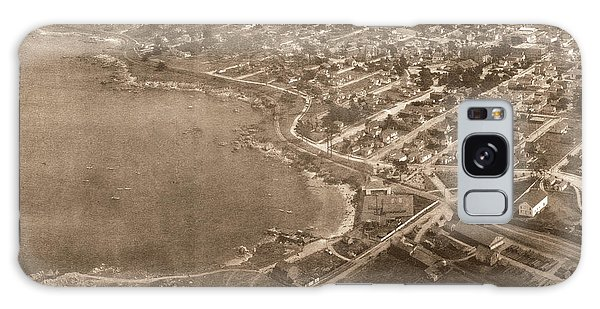Aerial Of Lovers Point And Pacific Grove California July 10 1906 Galaxy Case