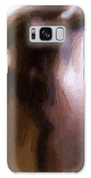 Modern Galaxy Case - Lovers by Steve K