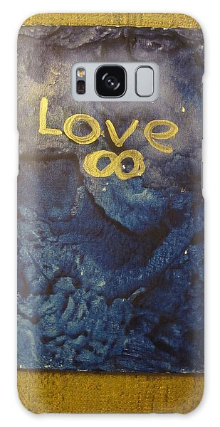 Loves Blue Mood Galaxy Case by Lawrence Christopher