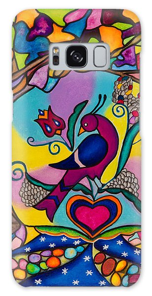 Loving The World Galaxy Case by Lori Miller