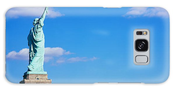 Statue Of Liberty Galaxy S8 Case - Low Angle View Of A Statue, Statue by Panoramic Images