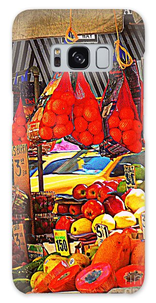 Low-hanging Fruit Galaxy Case by Miriam Danar