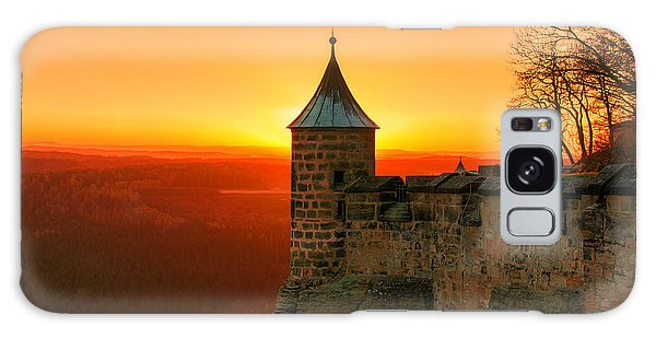 Low Sun On The Fortress Koenigstein Galaxy Case