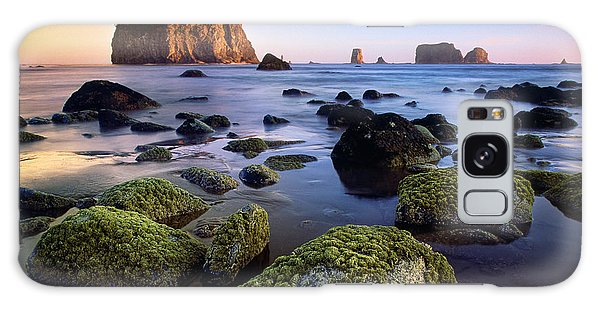 Olympic National Park Galaxy Case - Low Tide At Second Beach by Inge Johnsson