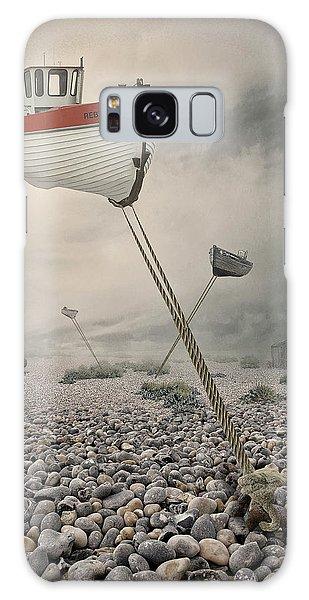 Tides Galaxy Case - Low Tide by Baden Bowen
