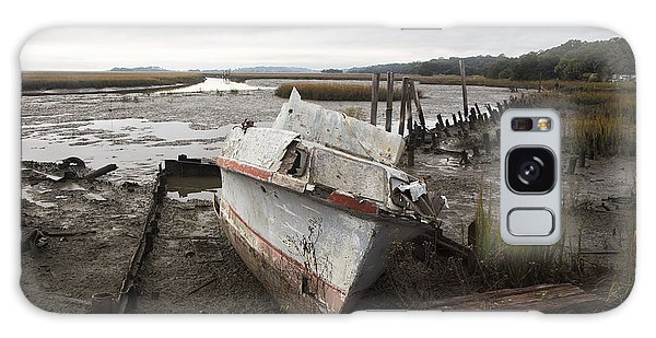 Low Tide Panorama Galaxy Case