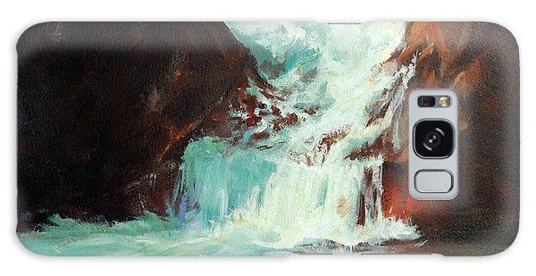 Lower Chasm Falls Galaxy Case