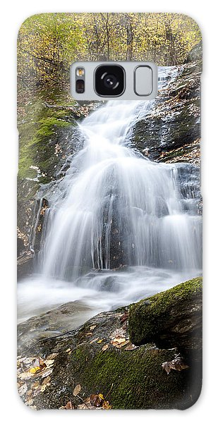 Lower Crabtree Falls Galaxy Case by David Cote