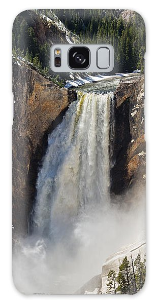 Lower Falls Of The Yellowstone Galaxy Case