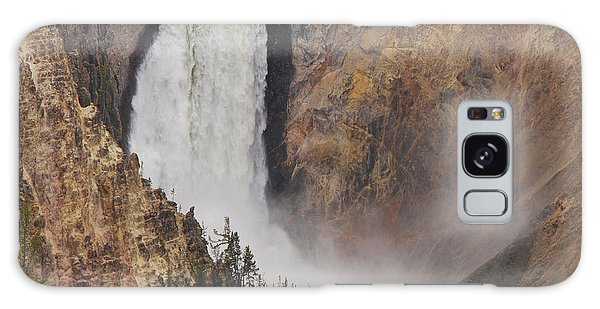 Lower Falls - Yellowstone Galaxy Case by Mary Carol Story